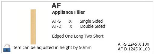 Item can be adjusted in height by 50mm